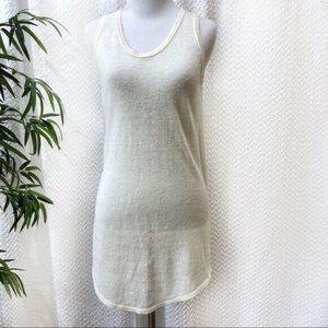 NEW Inhabit Linen Sleeveless Top Ivory Small $341